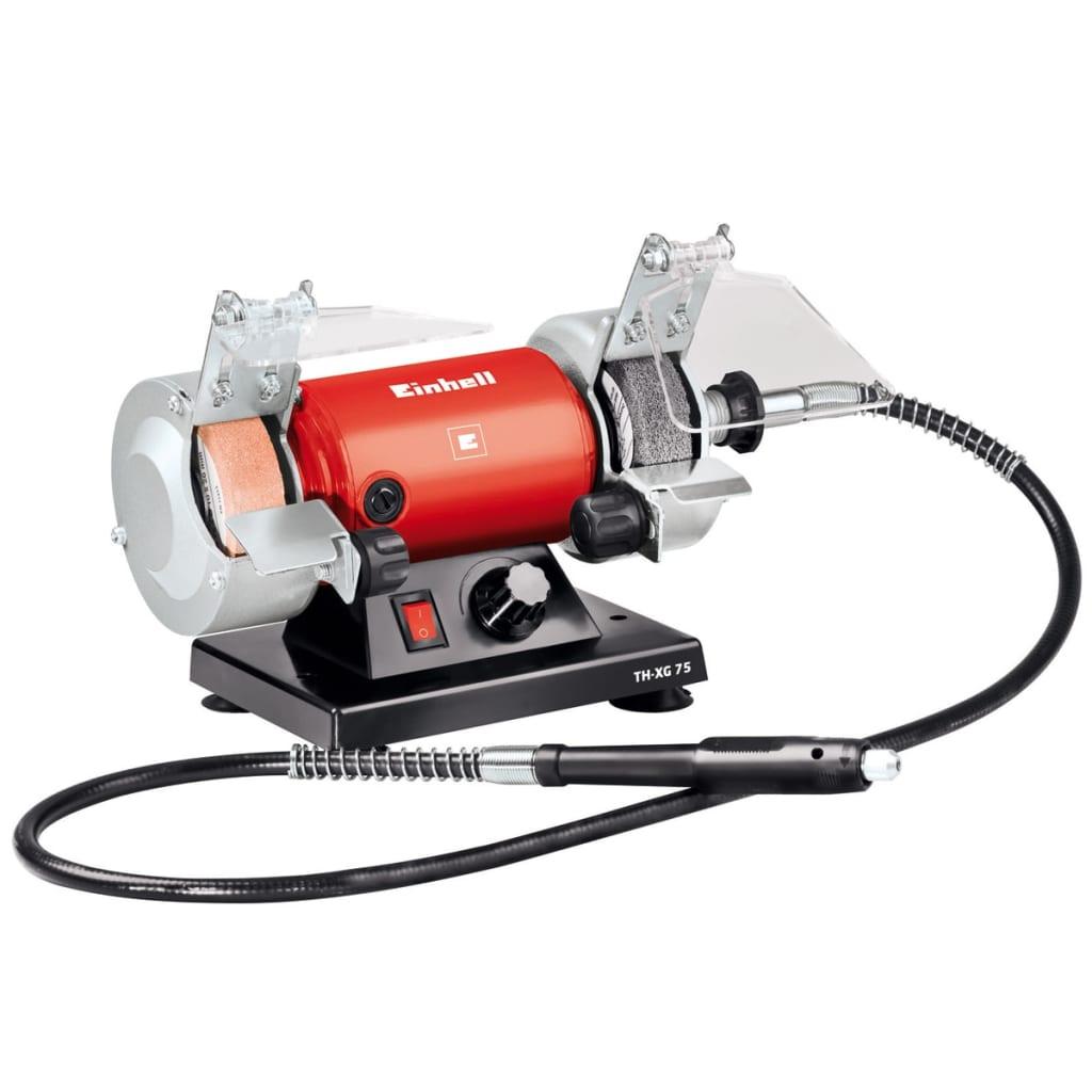 Afbeelding van Einhell Polijstmachine met dubbel wiel TH-XG 75 Kit