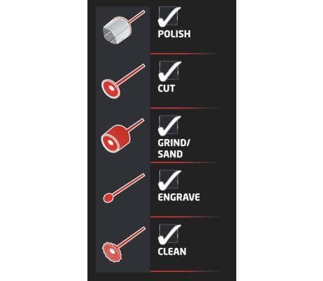 EINHELL kit touret à meuler multifonctions 120W TH-XG 75 + 100 a[7/11]