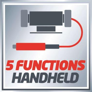 EINHELL kit touret à meuler multifonctions 120W TH-XG 75 + 100 a[9/11]