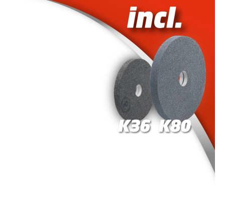 EINHELL touret à meuler sèche et eau 250W TC-WD 150/200[7/13]