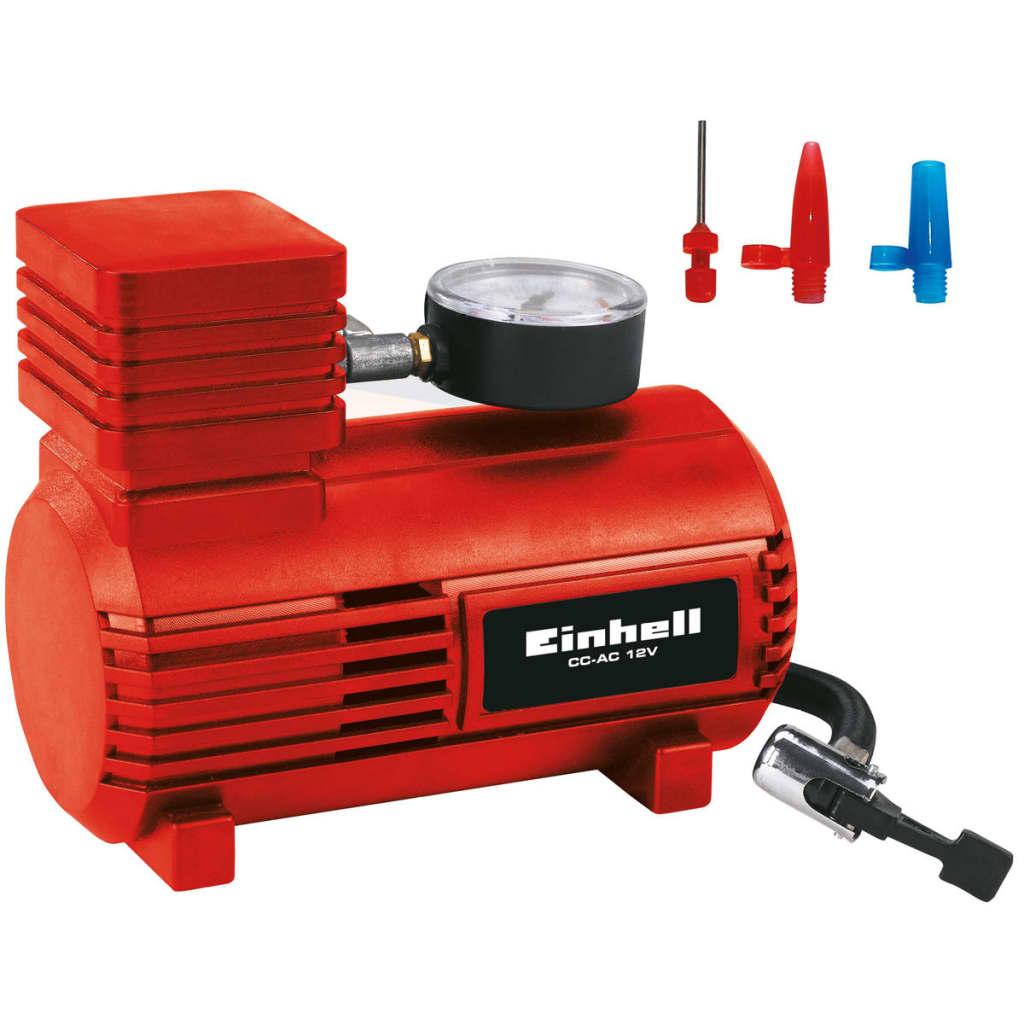 406640 Einhell Compresor de aer auto CC-AC 12 V 2072112 vidaxl.ro