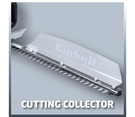 Details about Einhell Cordless Hedge Trimmer Grass Shear GE CH 18551 Li Solo 18 V 3410502