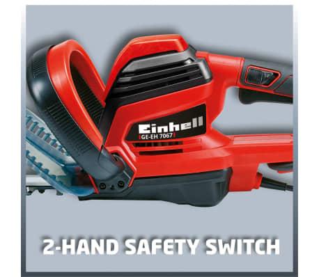 Einhell Elektro-Heckenschere GE-EH 7067 700 W 3403340[9/12]