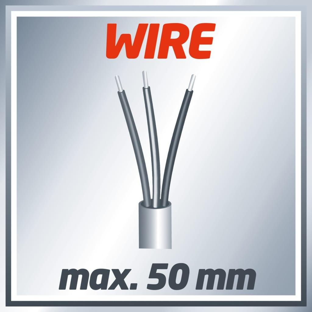 Einhell Digitale pijp, draad en stekker detector TC-MD 50 rood 2270090