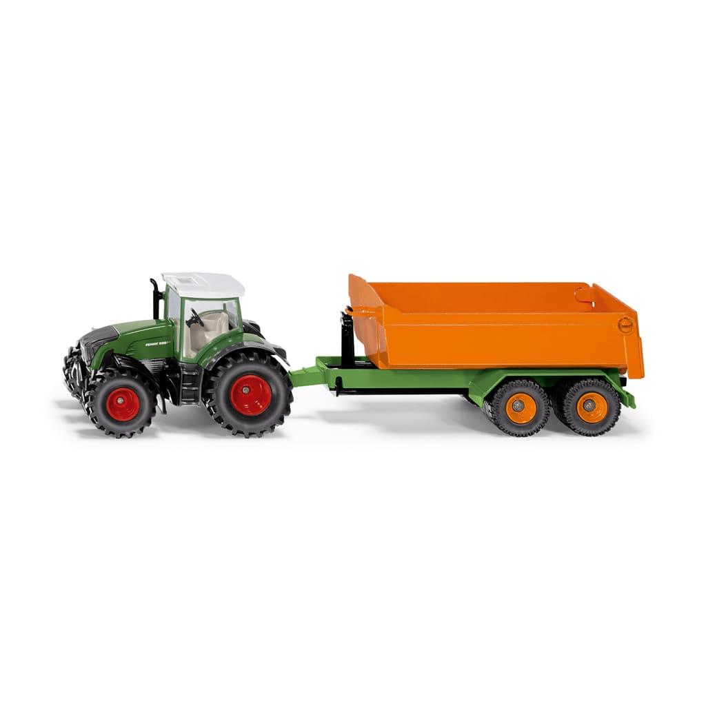Siku 1989 Tracteur Fendt a rencontré Joskin Aanhanger