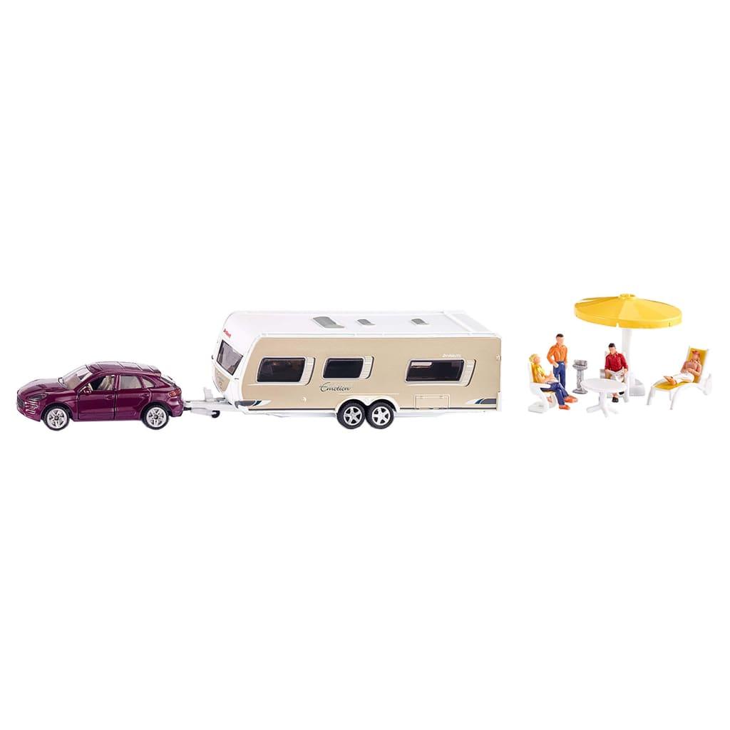 Siku 2542 Car Caravan Met