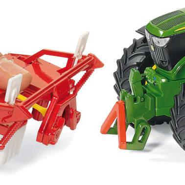Siku Traktor John Deere 6210R, skala 1:32, 541866[2/6]