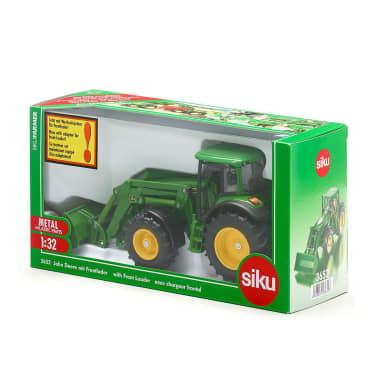 Siku Traktor z ładowaczem czołowym John Deere, zabawkowy, 1:32, 541263[2/2]