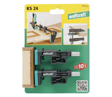 wolfcraft Serre-joints de bord KS 24 2 pcs 3037000[7/8]