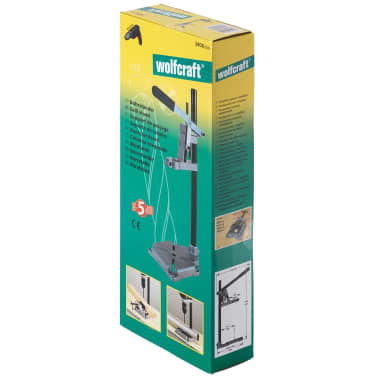 wolfcraft Support de perceuse 23x16 cm 3406000[5/5]