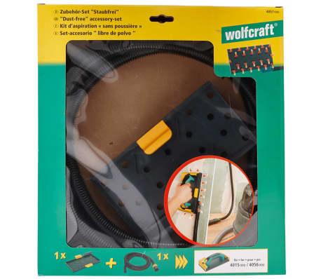 wolfcraft Kit d'accessoires de ponçage Dust-Free 4057000[5/5]