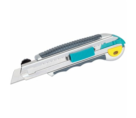 wolfcraft Couteau utilitaire professionnel et lame rétractable 4136000[1/3]