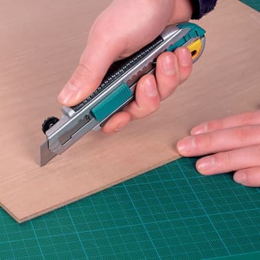 wolfcraft Couteau utilitaire professionnel et lame rétractable 4136000[3/3]