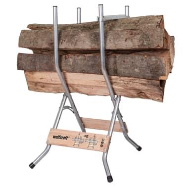 wolfcraft Chevalet à bûches SB 60 100 kg 5119000[3/10]