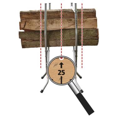wolfcraft Chevalet à bûches SB 60 100 kg 5119000[6/10]