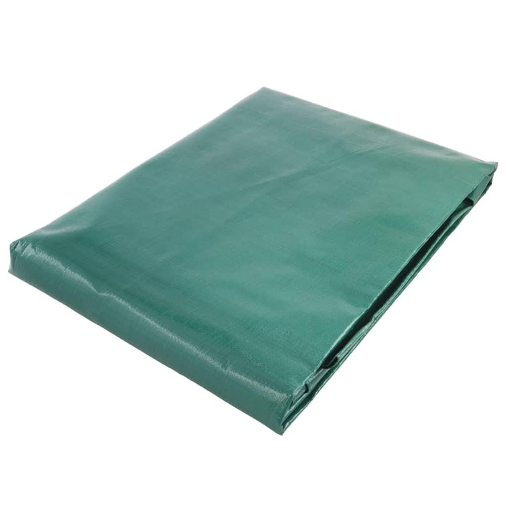 Wolfcraft Afdekzeil voor hout 600x150 cm groen 5124000