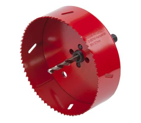 wolfcraft Scie cloche 127 mm Rouge 5495000[2/4]