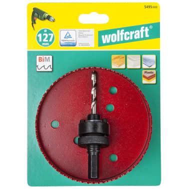 wolfcraft Scie cloche 127 mm Rouge 5495000[4/4]