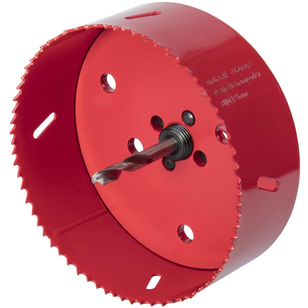 Afbeelding van wolfcraft Gatenzaag 121 mm bimetaal rood 5497000