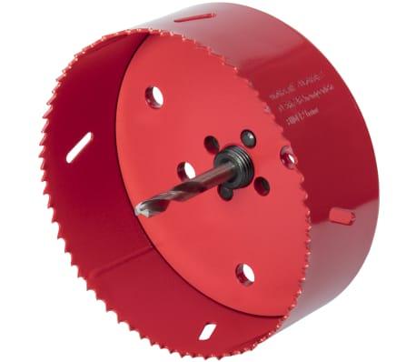 wolfcraft Hålsåg 152 mm bimetall röd 5498000