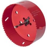 wolfcraft hulsav 152 mm bi-metal rød 5498000