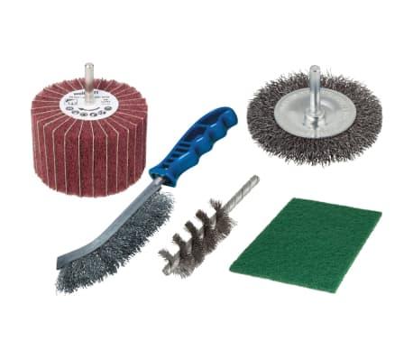 wolfcraft Set de cepillos de alambre 5 piezas 5641000[2/3]