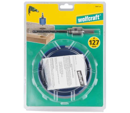 Wolfcraft Scie cloche universelle 127 mm Bleu 5961000[5/5]