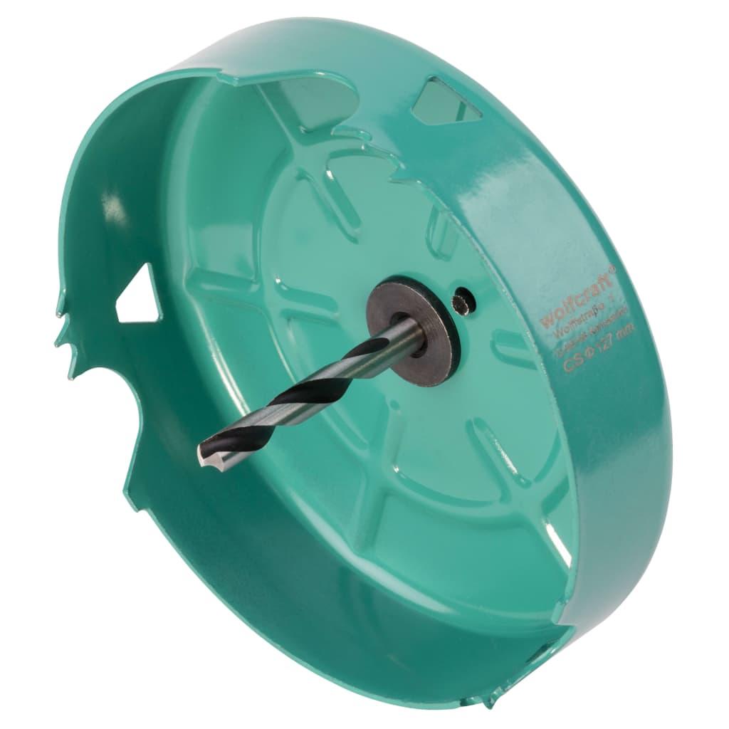 Afbeelding van wolfcraft Gatenzaag 127 mm koolstofstaal turquoise 5973000