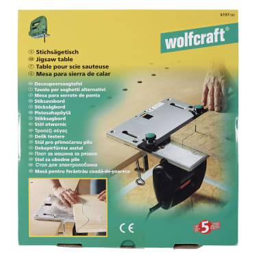 wolfcraft Table de scie sauteuse 6197000[4/5]