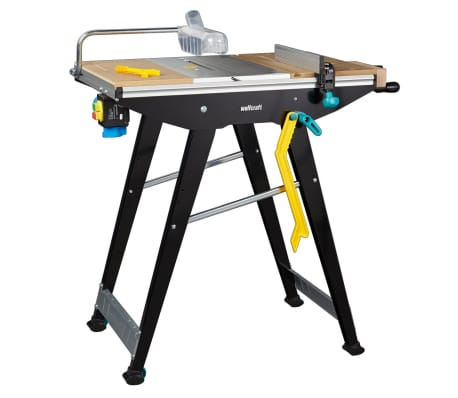wolfcraft Table de sciage Master Cut 1500 94 x 64 x 86,5 cm 6906000[2/14]