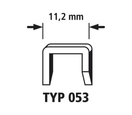 wolfcraft Agrafes à dos large Type 053 1400 pcs 8 mm 7030000[2/3]