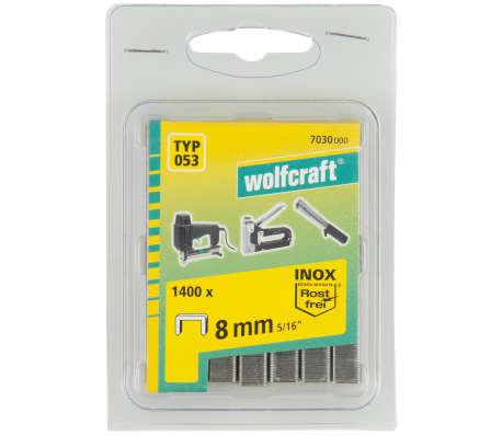 wolfcraft Agrafes à dos large Type 053 1400 pcs 8 mm 7030000[3/3]