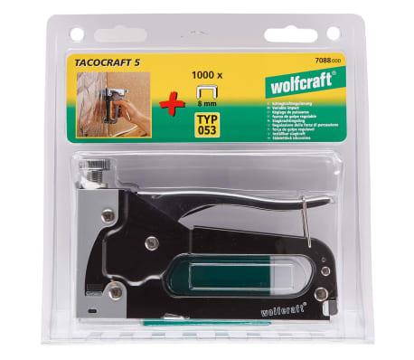 wolfcraft Jeu d'agrafeuse à main Tacocraft 5 7088000[4/4]