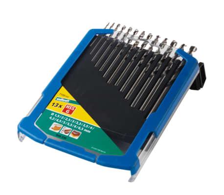 wolfcraft Jeu de forets 13 pièces Acier rapide 1,5-6,5 mm 7100000[2/4]