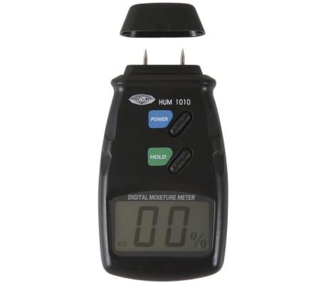 wolfcraft Hygromètre de bois Noir 8732500[1/3]
