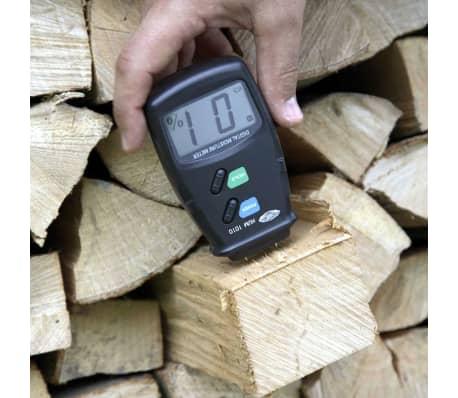 wolfcraft Hygromètre de bois Noir 8732500[2/3]