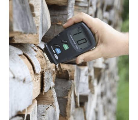 wolfcraft Hygromètre de bois Noir 8732500[3/3]