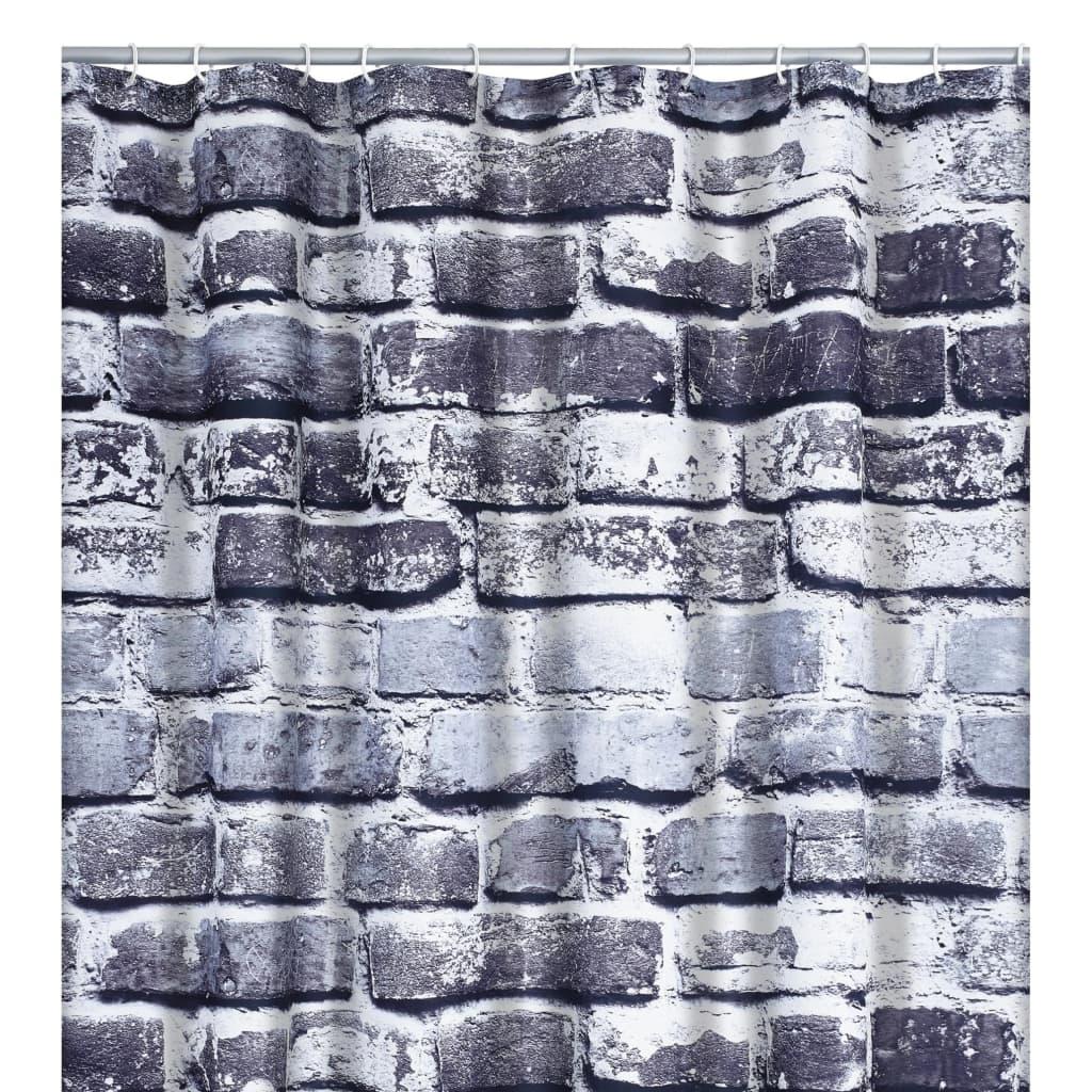 RIDDER Perdea de duș Wall, 180 x 200 cm imagine vidaxl.ro