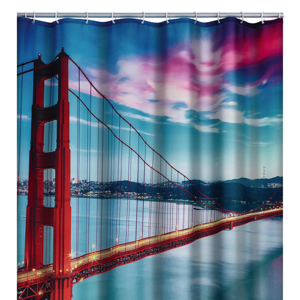 RIDDER Perdea de duș San Francisco, 180 x 200 cm imagine vidaxl.ro