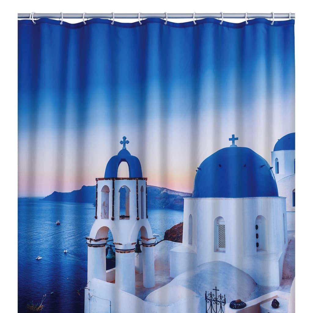 RIDDER Perdea de duș Santorini, 180 x 200 cm imagine vidaxl.ro