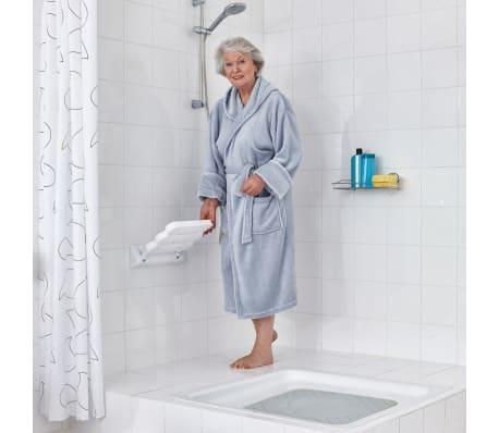 RIDDER Klappbarer Duschsitz Weiß A0020011[2/3]