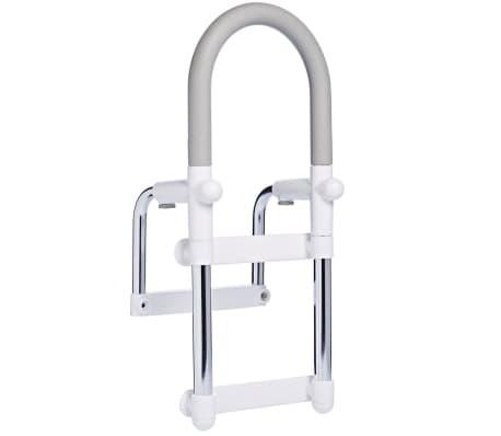 RIDDER Barre d'appui d'accessibilité baignoire Argenté 100kg A00300101[1/5]