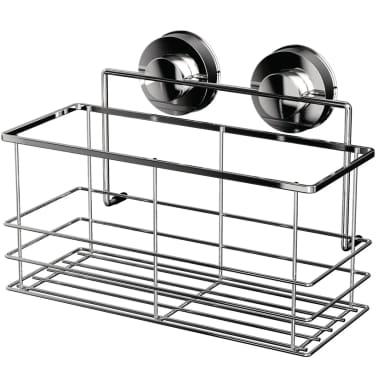 RIDDER Estante de ducha 25,5x13,1x20,2 cm cromado 12010300[1/3]