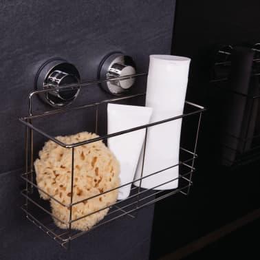 RIDDER Estante de ducha 25,5x13,1x20,2 cm cromado 12010300[2/3]
