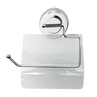 RIDDER Soporte para papel higiénico 17x3,2x16,6 cm cromado 12100000[1/3]