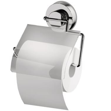 RIDDER Soporte para papel higiénico 17x3,2x16,6 cm cromado 12100000[2/3]