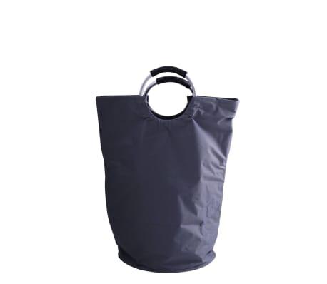 RIDDER Cesto de la ropa sucia gris 65 L[2/2]