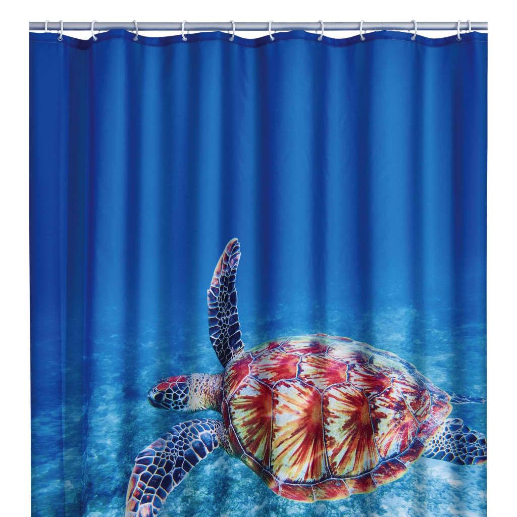 RIDDER Perdea de duș Turtle, 180 x 200 cm imagine vidaxl.ro