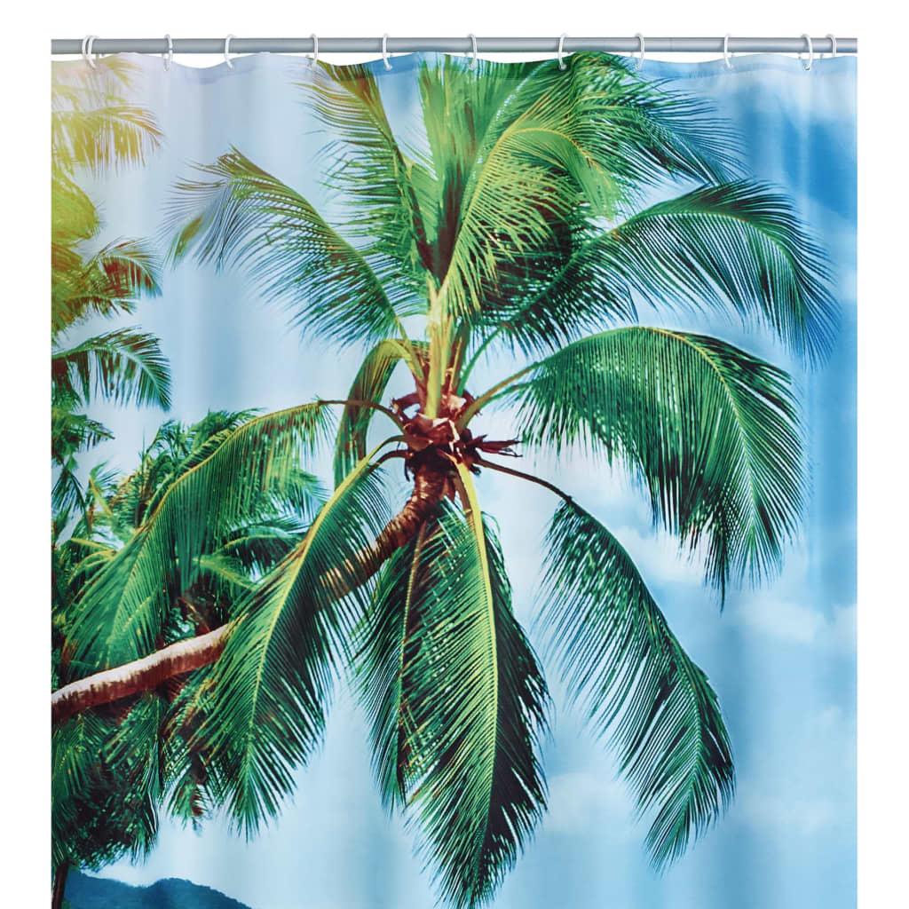 RIDDER Perdea de duș Palm Beach, 180 x 200 cm imagine vidaxl.ro