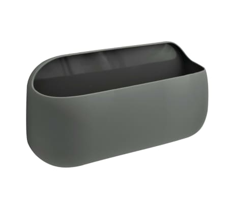 RIDDER Caja de almacenamiento con adhesivo gris